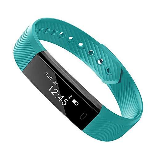 Smart Wristband Watch Activity Tracker Smart cicret Bracelet Pedometer,Green