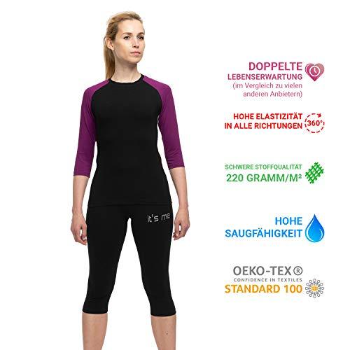 It's Me EMS-Kleidung   Set 7   Kompatibel mit Allen EMS Anbietern   Unisex   OekoTex100 Siegel   Stoff 220gramm/m²=Lange Lebensdauer  