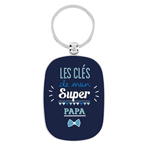 Porte-clés OPAT Mon super papa - Derrière la porte