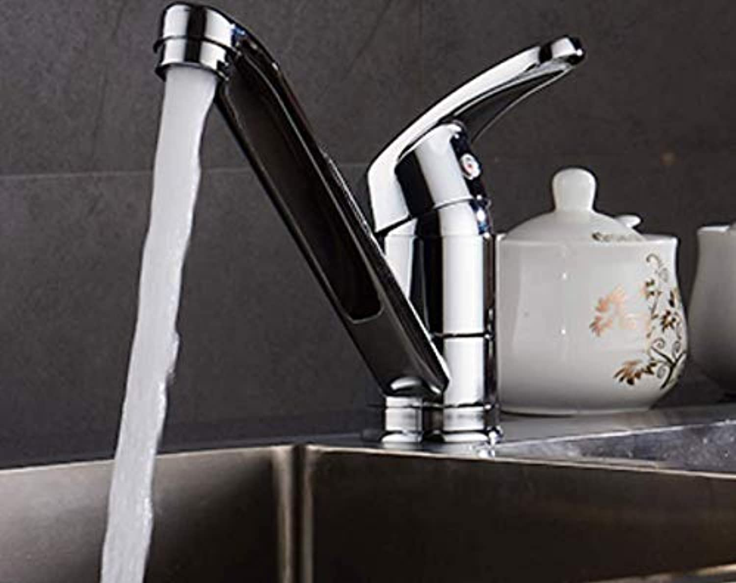 Bathroom Faucet Boss Long Neck Faucet Short Long Mouth greenical Long redatable Sink Sink Kitchen Faucet Hot and Cold