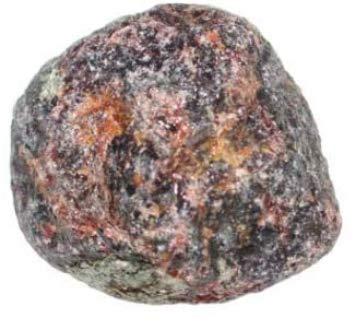 Granate almandino bruto de 25 a 30mm piedra de colección y litoterapia