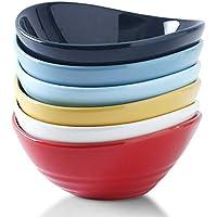 6-Count Koov Porcelain Salad Bowl Set, 18 oz