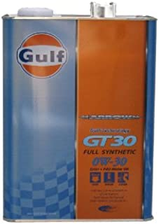 Gulf ARROW(ガルフ アロー)GT30 0W-30 / 0W30 4L缶 1本(4リットル缶) Gulf ガルフオイル 0W30