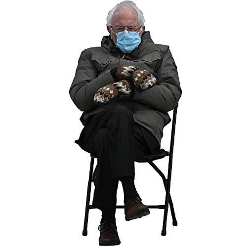Wet Paint Printing + Design Bernie Sanders Mitten Meme 55' Cardboard Cutout