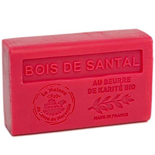 Savon Bois de Santal au beurre de karité Bio - 125gr