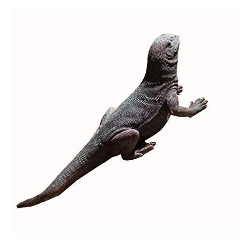 Resina Lizard sujetalibros Decoración Libro Colgante Puesto de Libros de decoración Retro (Color : Black)