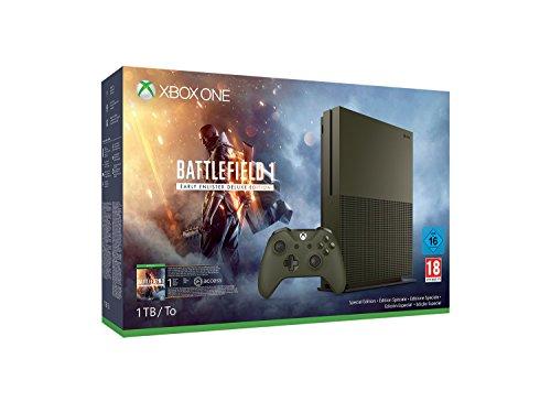 Xbox One S 1 TB Konsole - Battlefield 1 Special Edition Bundle