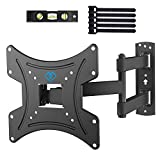 TV Wall Bracket, Swivel Tilt Solid Sturdy TV Mount for 13-42 Inch TVs