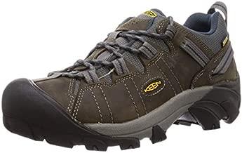 KEEN Men's Targhee II Hiking Shoe, Gargoyle/Midnight Navy - 9.5 D(M) US