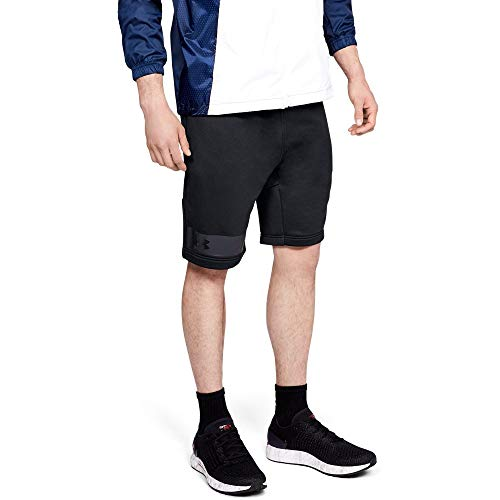 Under Armour Men's MK-1 Terry Shorts, Black (001)/Anthracite, Small