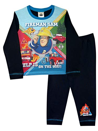 Fireman Sam On The Way Jungen Pyjama 4-5 Jahre