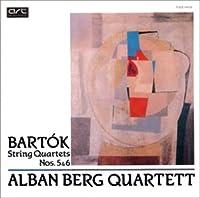 バルトーク:弦楽四重奏曲第5番&第6番
