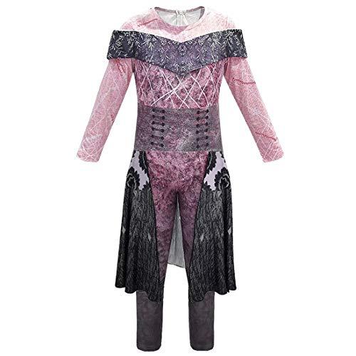 Descendants 3 Disfraces Audrey Mal Evie Jay Carlos Traje Gráfico 3D Disfraz Halloween Cosplay Mono Onesies para Niños Adultos