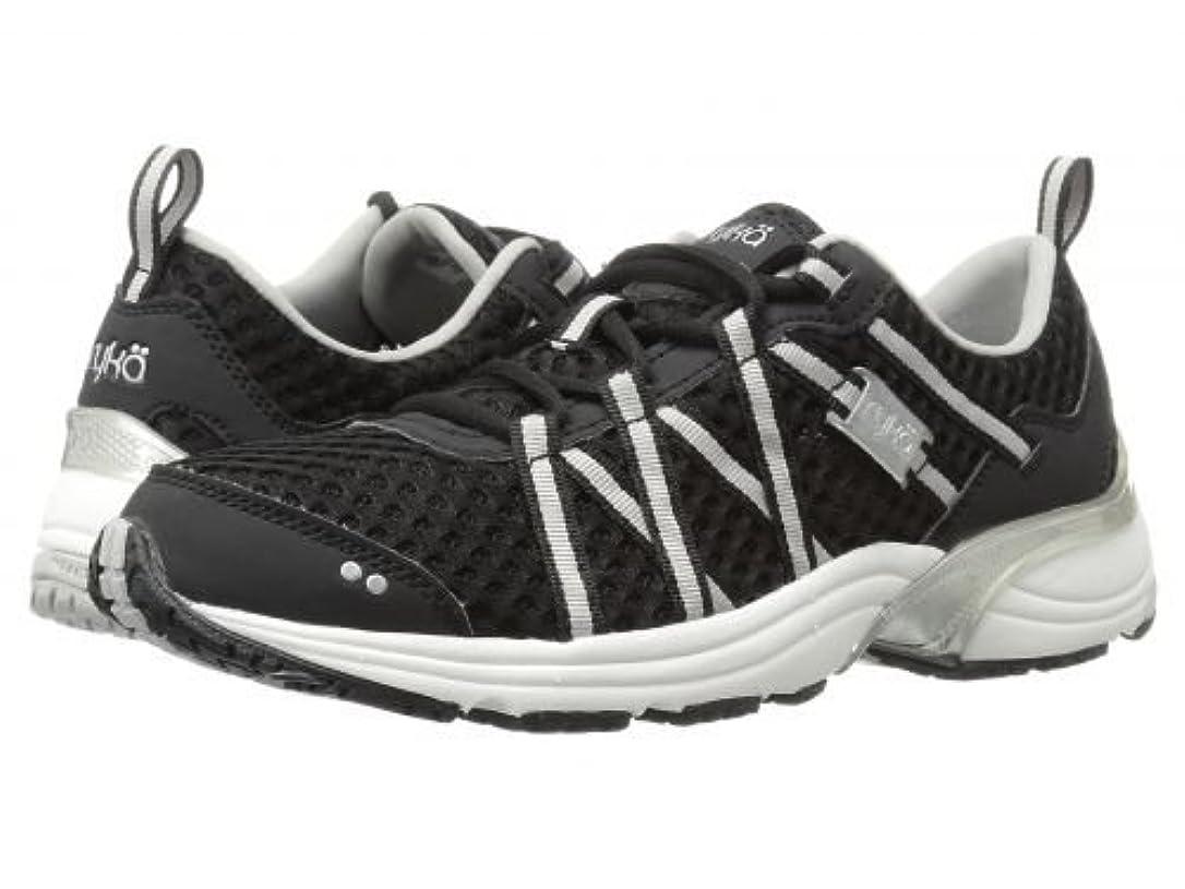 困った組み合わせる承認するRyka(ライカ) レディース 女性用 シューズ 靴 スニーカー 運動靴 Hydro Sport - Black/Silver [並行輸入品]