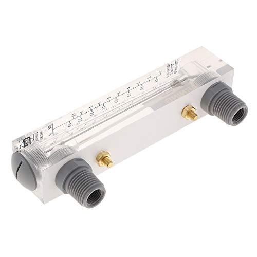Sharplace Lzm-15 Type Montage Panneau Acrylique Débitmètre Eau Liquide - 0.1-1gpm