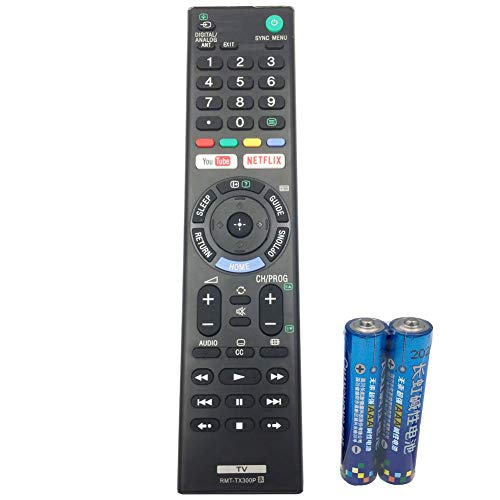 TV Remote Control RMT-TX300P for Sony Bravia TV KD-55X7000E by QINYUN