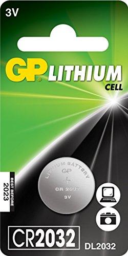 GP cellule au lithium C1 CR2032