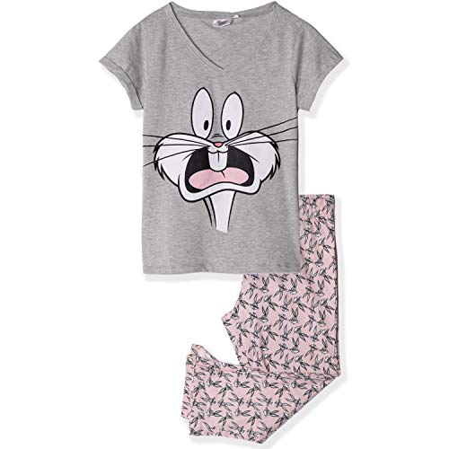 Looney Tunes Damen Lang Pyjama Schlafanzug