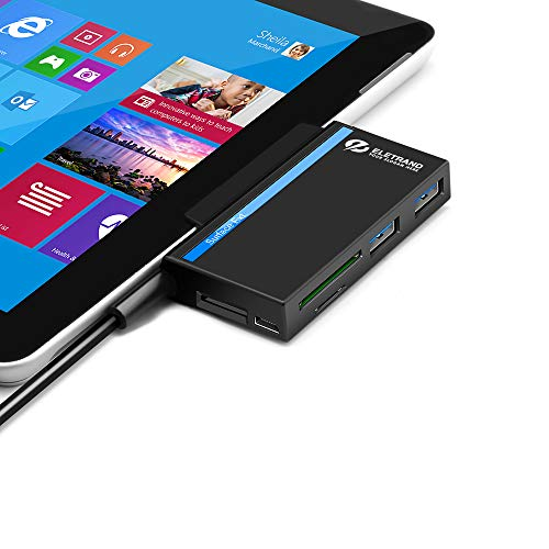 Eletrand Portable USB 3.0 Hub for Surface Pro 4-6