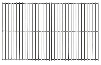Hisencn Stainless Steel Cooking Grid Grates JCX531 4-Pack  Replacement Parts for Turbo 4-Burner 5-Burner 720-0057-4B 750-0058-4BRB Nexgrill 720-0584A Perfect Flame 720-0335 Gas Grill