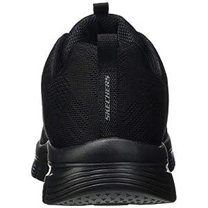Skechers Graceful-Get Connected, Zapatillas Mujer, Negro (BBK Black Mesh), 37 EU