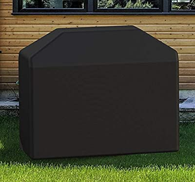 OUTDOOR DOIT Grill Cover 58 Inch, BBQ Cover, Heavy Duty Waterproof UV Protected Crack Resistant, Light Weight Easy Folding for Outdoor Most Brands Grill, Weber, Kenmore