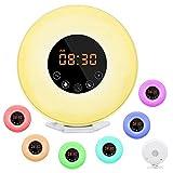 Wake Up Light, Dostyle Alarm Clock with Sunrise & Sunset Simulator, 6 Nature