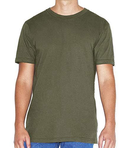 American Apparel T-Shirt, Unisex, kurzärmelig, Baumwolle, einfarbig Gr. S, Lieutenant
