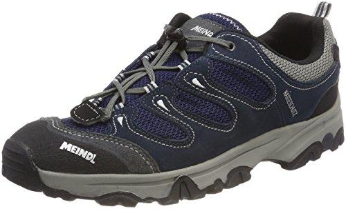Meindl Tarango Junior, Chaussures de Randonnée Basses Mixte Enfant, Bleu (Marine/Silber 49), 39 EU