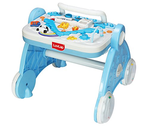 Luvlap Baby Musical Activity Walker (Blue)