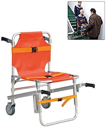 GLJY Stair Chair Aluminium Leichtgewicht Ambulance Medical Lift - Evakuierungsrollstühle Emergency Lift Neue Ausrüstung mit Schnellverschlüssen