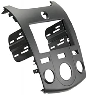 SCOSCHE KA2410B 2010-13 Kia Forte (Black) Double DIN or DIN w/Pocket Install Dash Kit