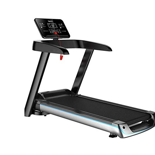Buy Discount Olk Convenient Indoor Electric Treadmill Fitness Treadmill, with LED Display and Mounts...