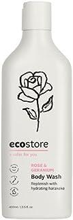 ecostore(エコストア) ボディウォッシュ 【ローズ&ゼラニウム】 400mL ボディケア ボディソープ