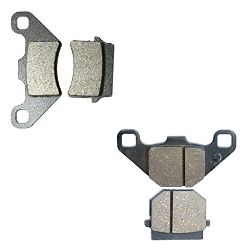 Semi Met Bremsbelage Set fit for Street Bike RYZ50 RYZ 50 cc 50cc Enduro 13 14 2013 2014 4 Pads