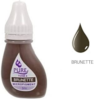 BioTouch PURE BRUNETTE Pigment Tattoo ink Permanent Makeup Cosmetic 3 ml Bio Touch Tatoo ink