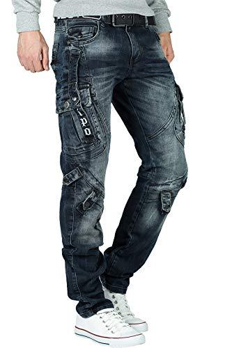 Cipo & Baxx Herren Jeans CD440-bans Blau W32/L32