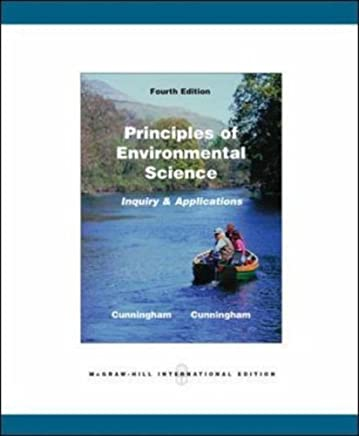 Principles of Environmental Science by William P. Cunningham (2006-10-01)