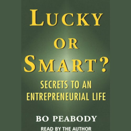 Lucky or Smart? audiobook cover art