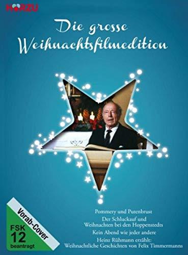 Die große Weihnachtsfilmedition Box 2: Pommery und Putenbrust / Der Schluckauf / Kein Abend wie jeder andere / ... Geschichten von Felix Timmermanns [2 DVDs]