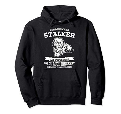 Persönlicher Stalker Hund Bolonka Zwetna Hundeliebhaber Pullover Hoodie