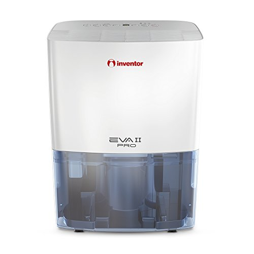 Inventor EVA II PRO ION 20 Litres/day Dehumidifier, 3-1 Air-Ioniser and Laundry-Dryer Dehumidifier, 2 Years Warranty