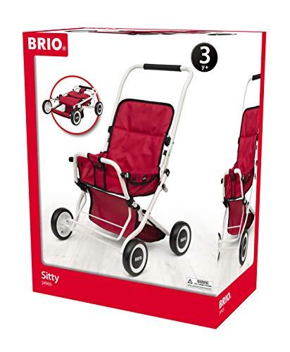 BRIO- Silla SITTY Rojo, 24905000