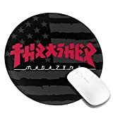 Thrasher Mouse Pads Non-Slip Gaming Mouse Pad Mousepad for Working,Gaming and Other Entertainment