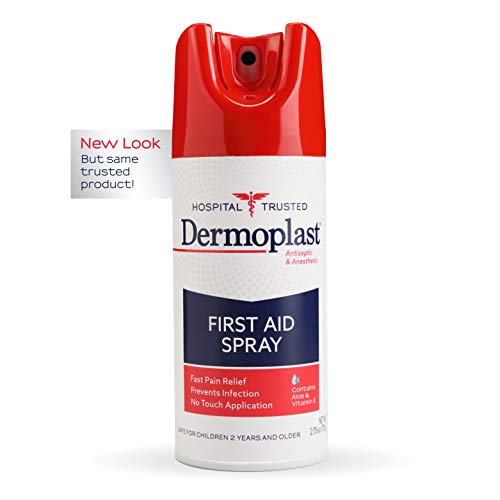 Dermoplast First Aid Spray, 2.75 Ounce Can, Antiseptic & Anesthetic