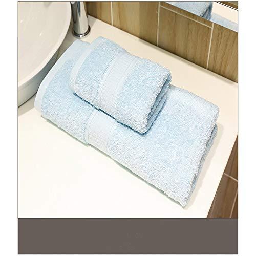 DSJDSFH badhanddoek van hoogwaardig katoen, eenvoudig en comfortabel, 150 x 70 cm, geschikt voor de sportschool thuis en voor een kostuum, tweedelig voor hotel