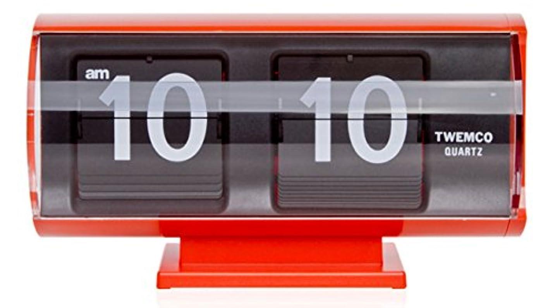 タブレット上がる霧TWEMCO トゥエンコ QT-30T インテリアクロック レッド [クロノワールド chronoworld]