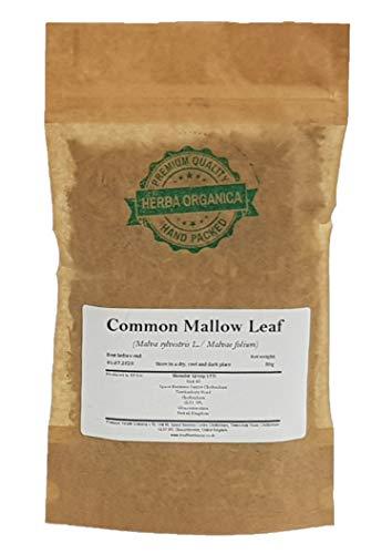 Mauve Sylvestre Feuille / Malva L / Common Mallow Leaf # Herba Organica # Grande Mauve, Mauve des Bois (50g)