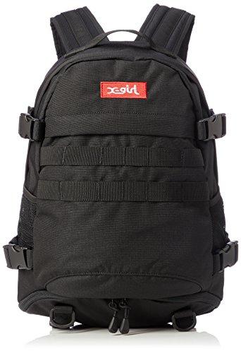 [エックスガール] MINI ADVENTURE BACKPACK 05181085 ブラック One Size