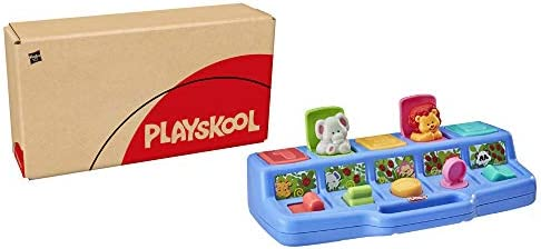 Playskool Busy Poppin Pals Pop Up Activity Toy for Babies and Toddlers Ages 9 Months and Up product image